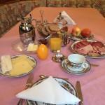 Mein Frühstück vor der Vernissage